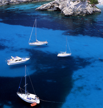 Sailboat Cyclades